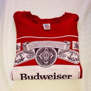 Urban Outfitters Budweiser Sweater